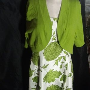 Dress /with Coverlet